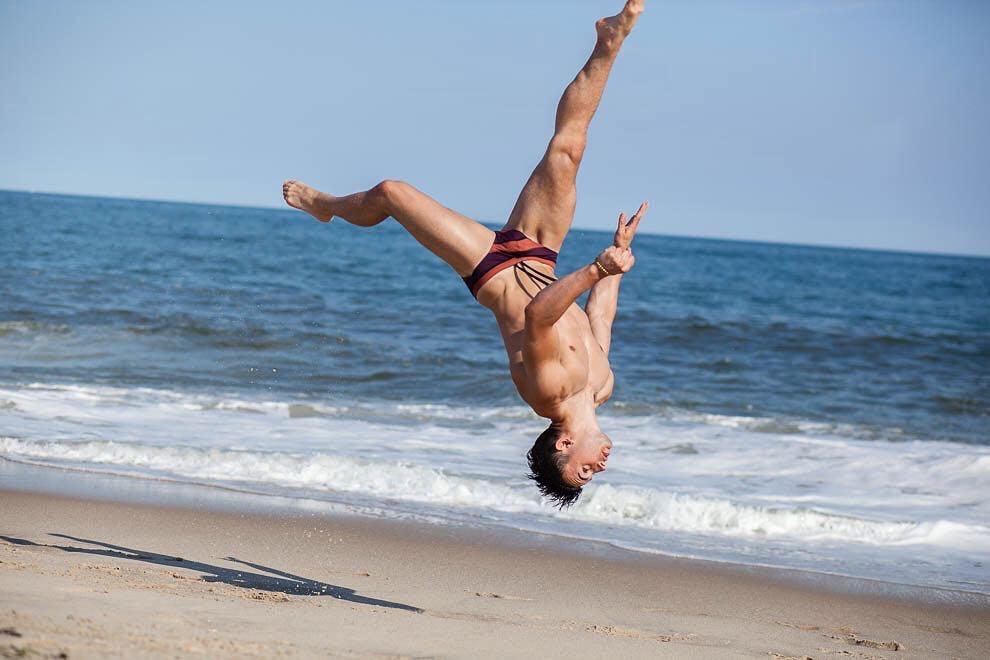 Anthony Stefanelli Gay LA Gymnast Influencer 2