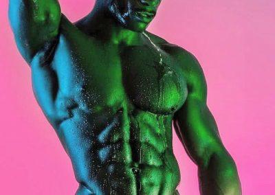 Daniel Shoneye Gay British Fitness Model 1
