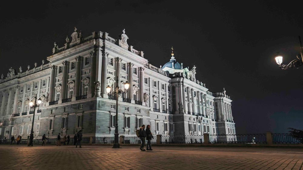 Gay Group Trips to Madrid with Influencers in August 2018 View of the Royal Palace