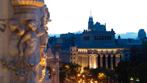 Gay Group Trips to Madrid with Influencers in March 2018 View of Alcala Street and gran via