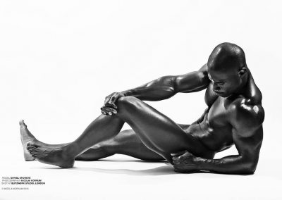 Daniel Shoneye Gay British Fitness Model 6